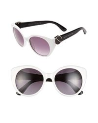Marc By Marc Jacobs | White 54mm Sunglasses | Lyst