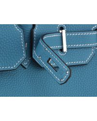 Hermès | 35cm Birkin Blue Jean Togo With Phw | Lyst