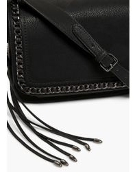 Mango - Black Chain Cross Body Bag - Lyst