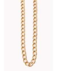 Forever 21 Metallic Traveler Layered Coin Necklace
