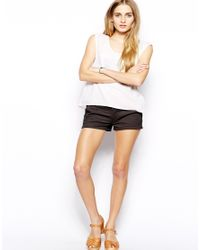 RVCA | Black Sugar Shakes Cotton Shorts | Lyst