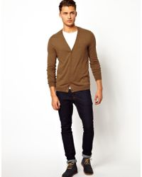 ASOS | Brown Cardigan for Men | Lyst