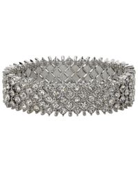 John Lewis | Metallic Bling Stretch Bracelet | Lyst