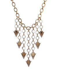 Lulu Frost | Metallic Istria Statement Necklace | Lyst