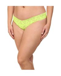 Hanky Panky   Red Plus Size Signature Lace Original Rise Thong 5-pack   Lyst
