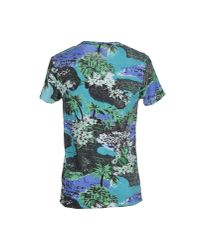 Scotch & Soda | Green T-shirt for Men | Lyst