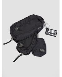 Porter - Snack Pack - Trip 3 Pouches Black for Men - Lyst