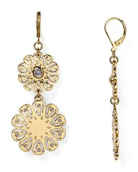 kate spade new york - Metallic Statement Earrings - Lyst