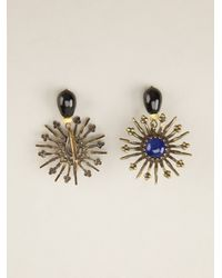 Isabel Marant - Blue Kayapo Earrings - Lyst