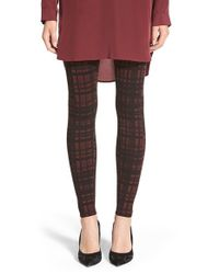 Lyssé | Purple Mara Checked Leggings | Lyst