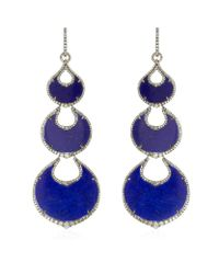 Annoushka | Blue Cloud Nine Nocturnal Chandelier Earrings | Lyst