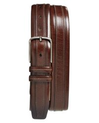 Mezlan | Brown Leather Belt for Men | Lyst