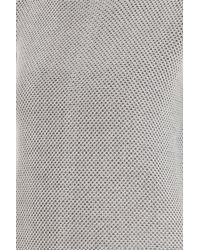 Vince - White 2 Color Jacquard Sweater - Lyst