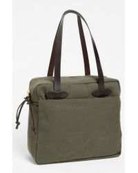 Filson | Natural Canvas Tote Bag for Men | Lyst