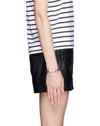 Venessa Arizaga | Black 'lucky Ducky' Bracelet | Lyst