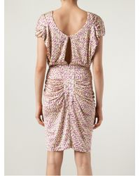Saloni - Pink Apsara Dress - Lyst