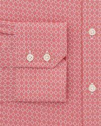 Thomas Pink | Red Bartlett Texture Dress Shirt - Regular Fit for Men | Lyst
