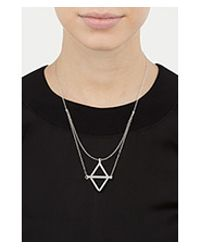 Pamela Love - Metallic Balance Necklace - Lyst
