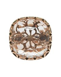 Laurent Gandini | Pink Rose Gold Maxi Bon Ton Ring | Lyst