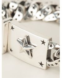 King Baby Studio | Gray Star Link Bracelet | Lyst