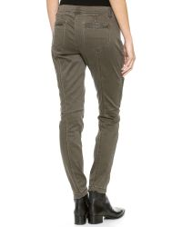 DKNY - Brown Pure Skinny Cargo Pants Camp - Lyst