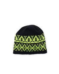 Polo Ralph Lauren | Green Geometric Wool-blend Beanie for Men | Lyst