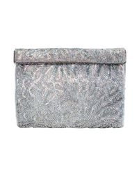 Nina - Metallic Meadow Clutch - Lyst