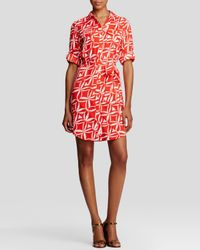 2231658ecce Calvin Klein. Women s Floral Print Shirt Dress - Bloomingdale S Exclusive