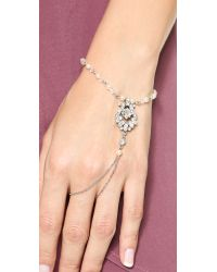 Ben-Amun - Multicolor Crystal Hand Chain - Clear - Lyst
