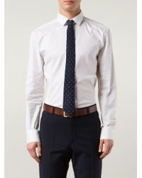 Brunello Cucinelli | Blue Polka Dot Tie for Men | Lyst