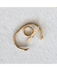 Kelly Wearstler   Metallic Faxon Ring   Lyst