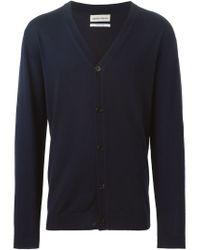 Libertine-Libertine - Blue V-neck Cardigan for Men - Lyst