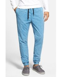 Ezekiel | Blue 'kamden' Denim Jogger Pants for Men | Lyst