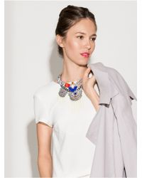 BaubleBar | Threaded Jurassic Collar-black | Lyst