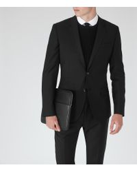 Reiss - Black George B Slim-fit Blazer for Men - Lyst