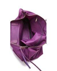 Rebecca Minkoff - Purple Nylon Mab Tote - Taupe - Lyst