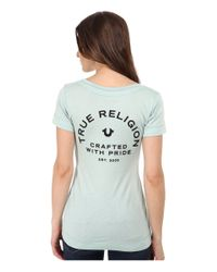 True Religion | Green Beaded Crafted W/ Pride Tee | Lyst