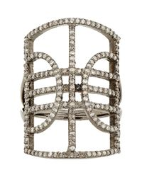 Carole Shashona | Metallic Women's Mercury Ring | Lyst
