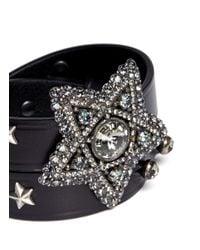 Lanvin - Black Star Bracelet - Lyst