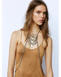 Free People | Metallic Womens Lost In Labyrinth Body Chain | Lyst