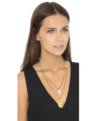 Lizzie Fortunato - Green Tangier Necklace - Lyst