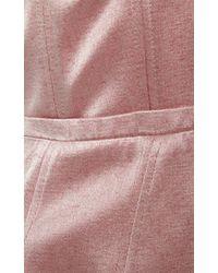 Katie Ermilio - Pink Boned Bodice Party Dress - Lyst
