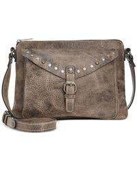 Patricia Nash | Brown Distressed Vintage Avellino Crossbody | Lyst