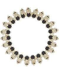 Givenchy | Black Skull Choker Necklace | Lyst