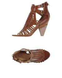 Belle By Sigerson Morrison - Brown Sandals - Lyst