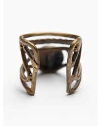 Free People | Blue Fp Collection Womens Caged Cuff Ring | Lyst
