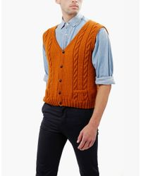 Wool And The Gang | Brown Jumpin' Jack Vest for Men | Lyst
