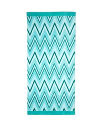 Forever 21 - Green Chevron Beach Towel - Lyst