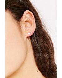 Kathleen Whitaker - Metallic Sterling Silver Single Earring - Lyst