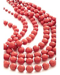 Zad Fashion Inc. | Orange You Bijou Necklace in Strawberry | Lyst